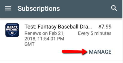 How do I cancel my Android/Google Play Store subscription? – FantasyPros